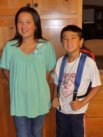First Day of School Fall 2008