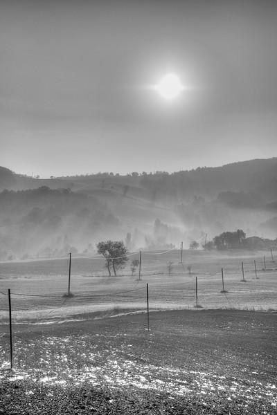 Low Sun - Vezzano sul Crostolo, Reggio Emilia, Italy - October 20, 2012