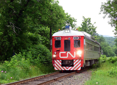 Canadian National 1501, '' Test Track Evaluation Systems'' Sutton, Quebec, July 11 2019.