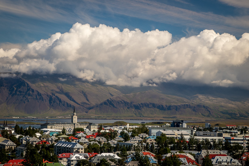 "August 2 - Central Reykjavik, Iceland, view from ""The Pearl"".jpg"