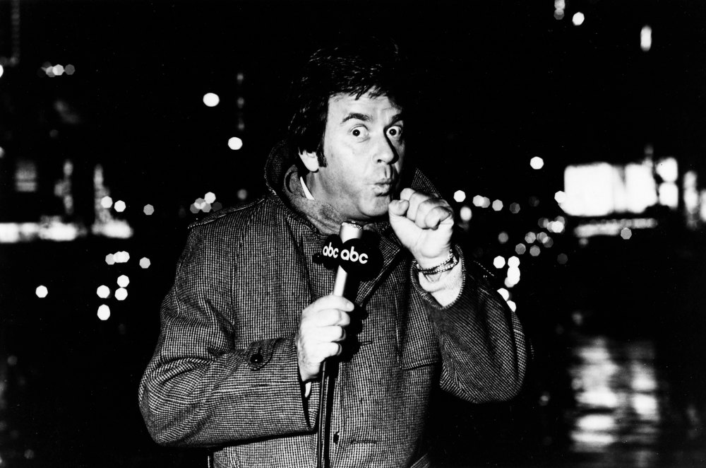 . NYRE 1970\'s Dick Clark in Times Square