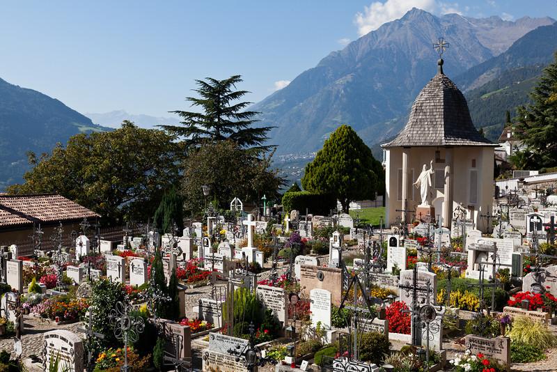 Dorf Tirol Friedhof
