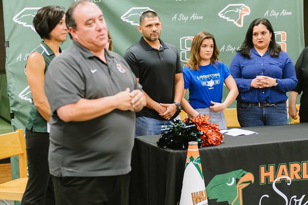 Cassandra Vela Signing