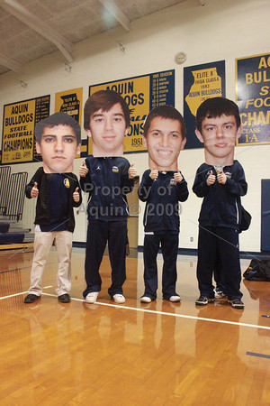 senior night boys bball v. forreston . 2.12.11