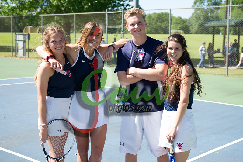 2017 TCH Tennis vs WCA