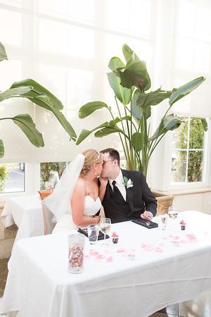 Angie + Chris' Wedding Reception