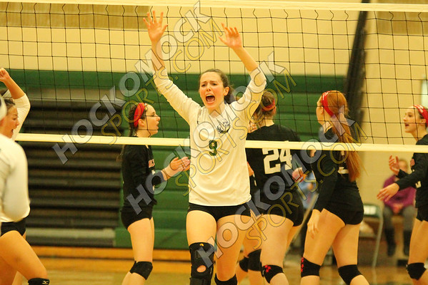 Canton-Milford Volleyball - 11-09-16