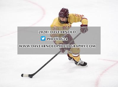 1/23/2020 - Boys Varsity Hockey - Malden Catholic vs BC high