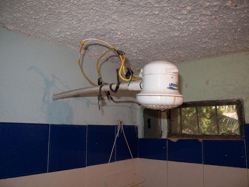 Water heating head