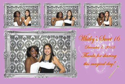 Whitley's Sweet 16