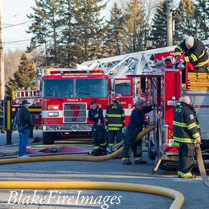 2 Alarm Structure Fire - 30 Fairview, Ansonia, CT - 2/23/20