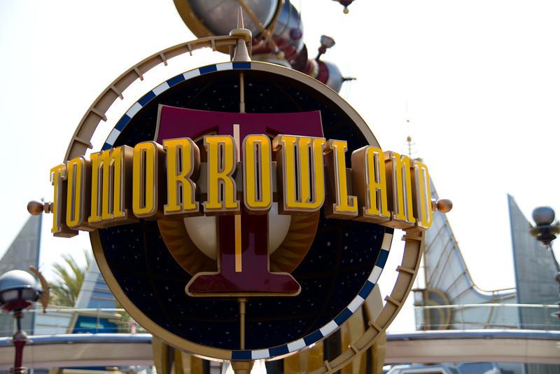 Tommorowland Signage