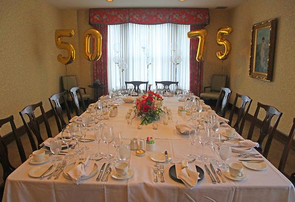 50th Anniversary & 75th Birthday Celebration