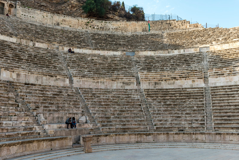 Roman Theater, Amman