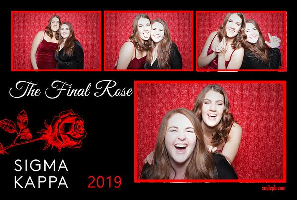 Sigma Kappa Final Rose 2019
