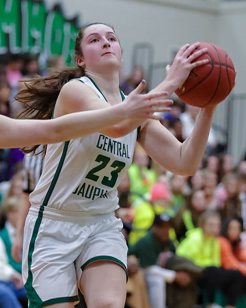2020-02-20 | Girls D3 QF | Central Dauphin vs. Dallastown