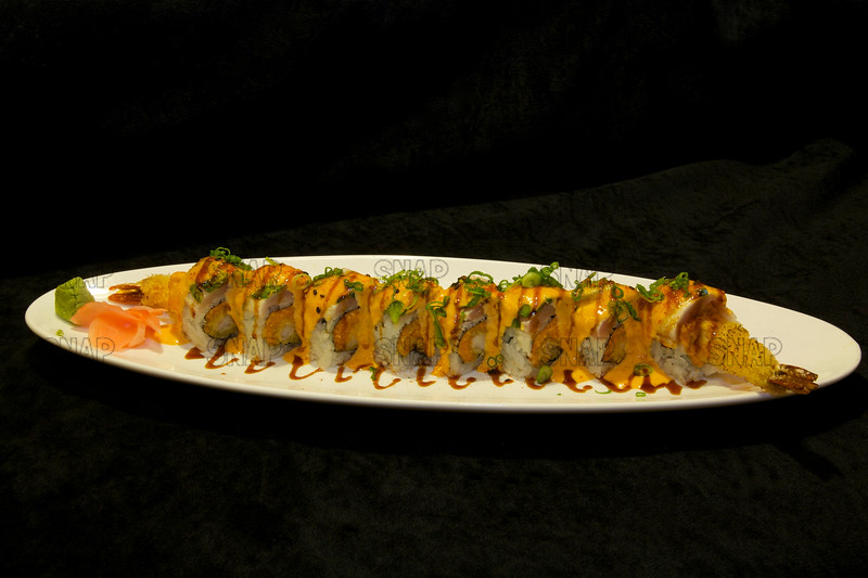 Tempura Shrimp Sushi Roll