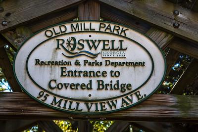 Roswell, Old Mill Park, Family Dinner, 2015