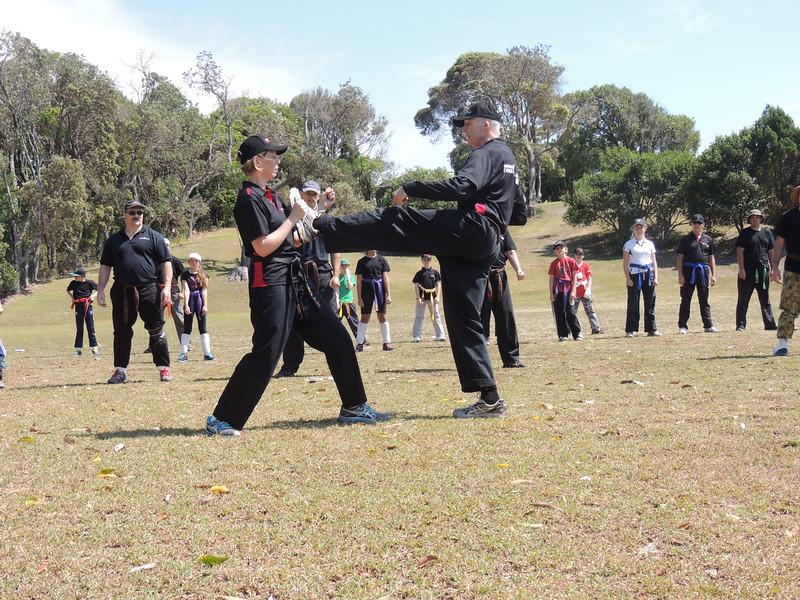 Shihan Martin Day & Sensei Patricia Fast Combat Karate Noosa