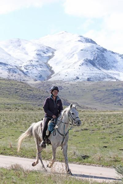 Antelope Island endurance ride in Utah
