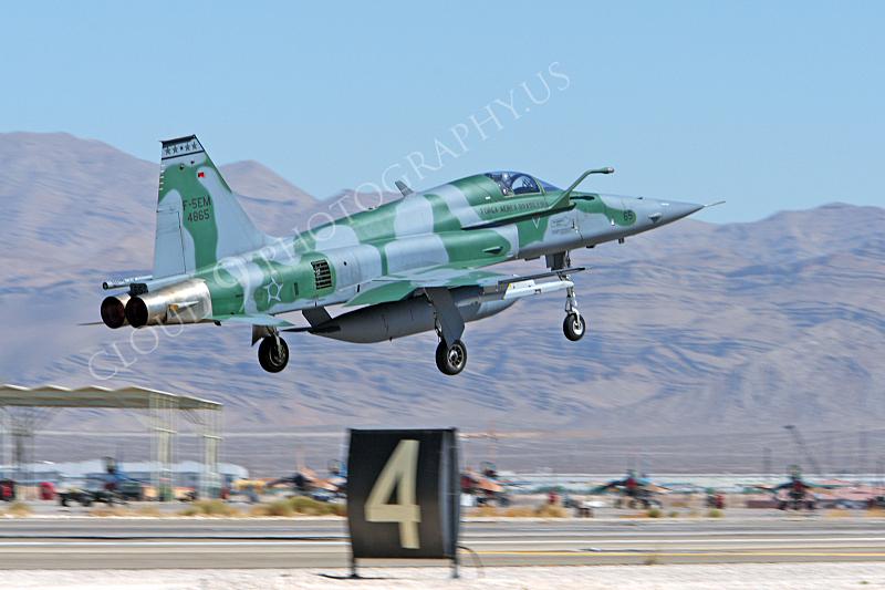 F-5FORG 00006 Northrop F-5EM Freedom Fighter Brazilian Air Force 4865 Nellis AFB by Peter J Mancus.JPG