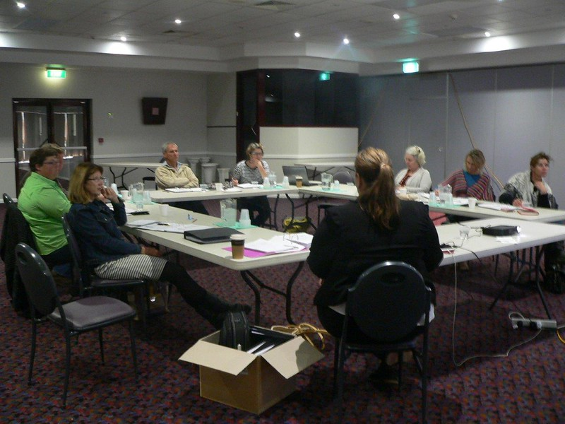 Narromine WHS workshop 08.09.15 Bec Fing