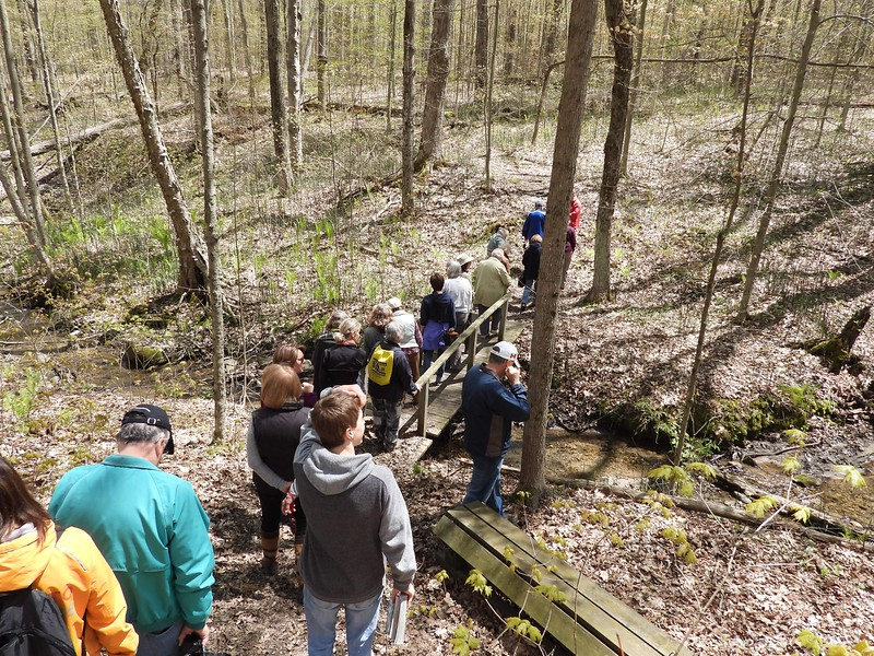 WBFN members crossing stream