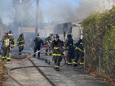 Garage fire CFD 11-20-20