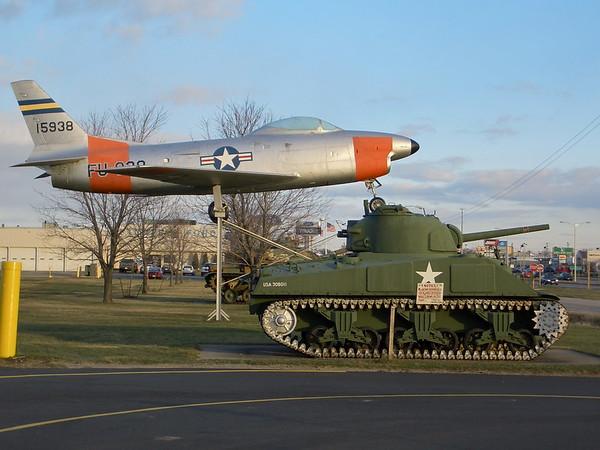 AL Post #38 - Appleton, WI - M4A3 & M60A3