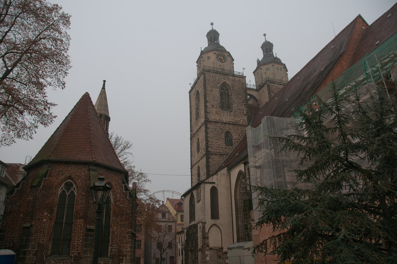 Entrance to Eisenach's Old Town in Wittenberg, Germany
