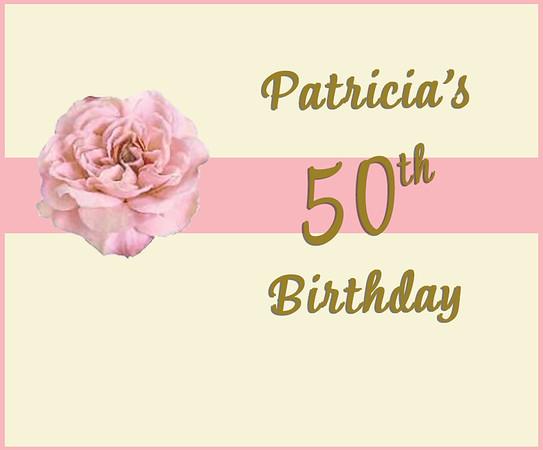 Patricia's 50th Birthday - Oct 19