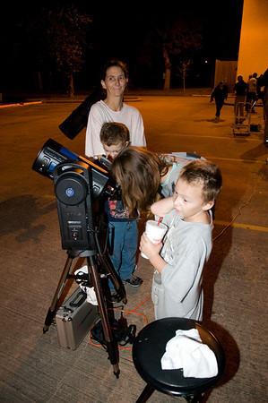 Public Star Party at Planetarium-11/7/09