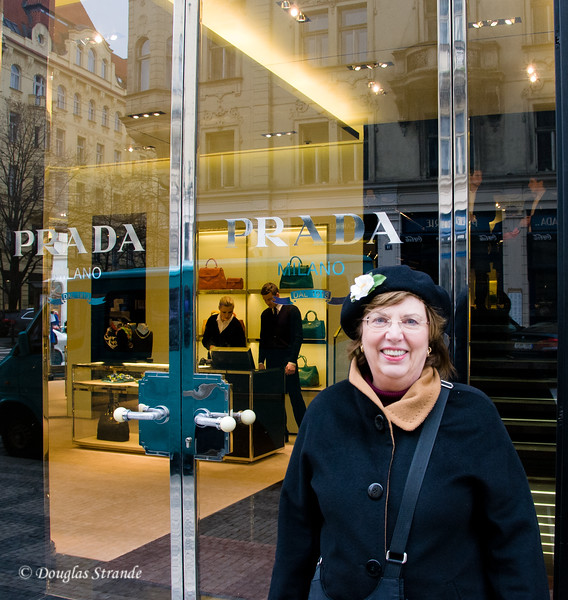 Louise discovers Prada