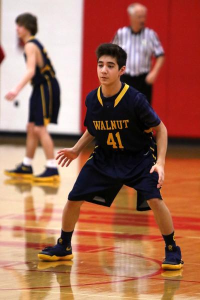 Freshman boys BB vs Walnut Hills 2-10-17