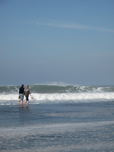 Couple, Ocean Beach, San Francisco, November 2008