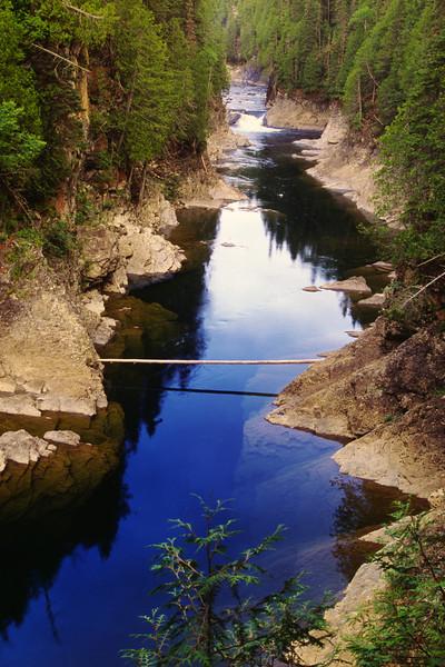 "Fosse ""Les Falls"" salmon hole"