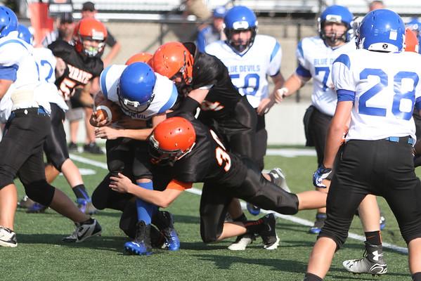 04b 8th Grade Football:  Gallia Academy at Wheelersburg 2014