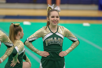 Cheer: Loudoun Valley @ Districts 10.18.2018 (By Jeff Scudder)