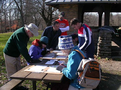 Mt Airy Orienteering - Dec 2, 2006