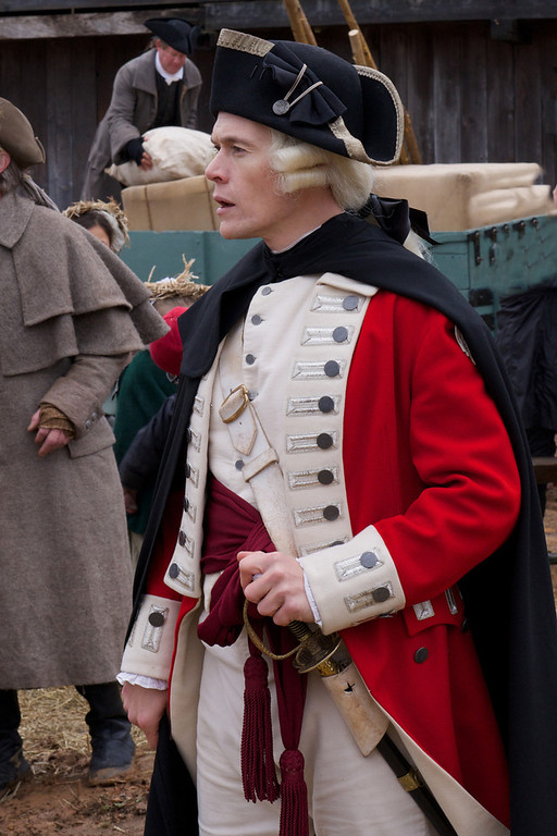 ". Burn Gorman as Major Hewlett in \""Turn\"" Season 1, Episode 2 (Photo by Antony Platt/AMC)"