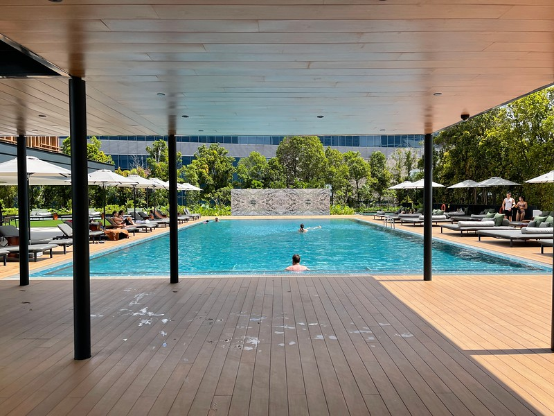 PARKROYAL COLLECTION Marina Bay Swimming Pool