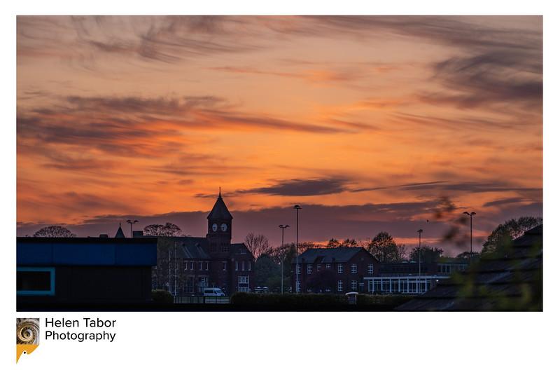 RGS sunset framed.jpg
