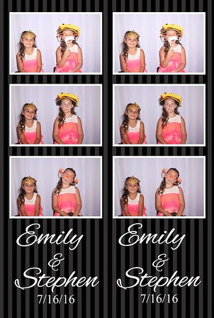 Stephen and Emily's Wedding Photobooth