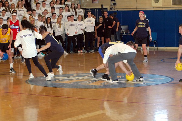 Spirit Week 2017-Dodgeball Finals