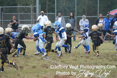 09-12-2015 Montgomery Village Sports Association Chiefs Tiny Mites vs Western Charles Chargers, Photos by Jeffrey Vogt Photography