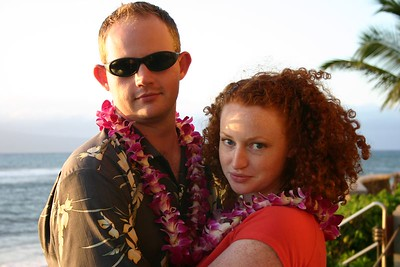2004-Maui-Mel and Chris