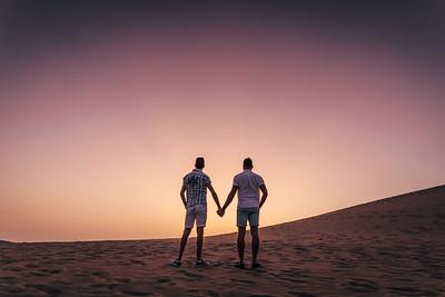 Dave y Francesco (Preboda Gran Canaria)