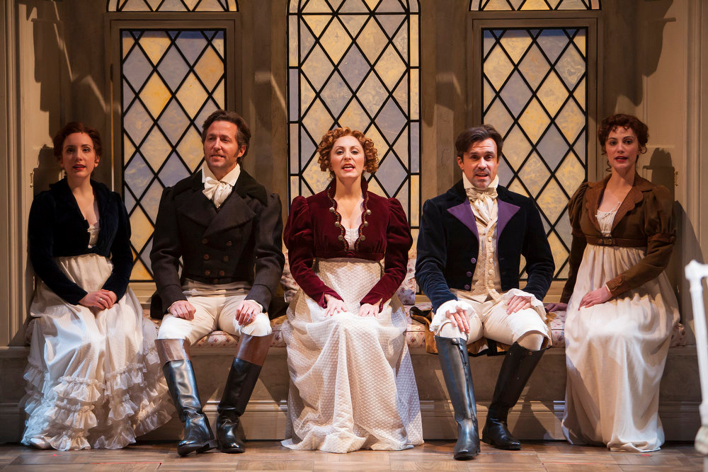 """. A scene from the Denver Center\'s world premiere of Jeffrey Haddow and Neal Hampton\'s \""""Sense & Sensibility The Musical.\""""   Photo by Jennifer M. Koskinen"""
