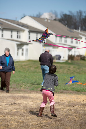 March - Kite Flying