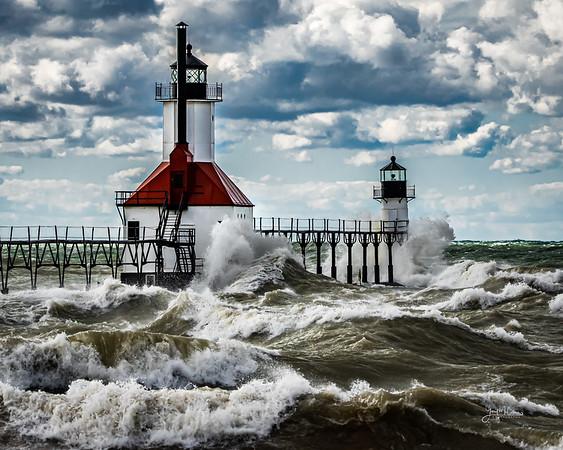 Silver Beach Lighthouse